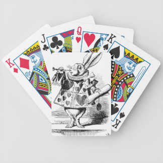White Rabbit Poker Deck