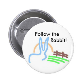 White Rabbit Promotions 2 Inch Round Button