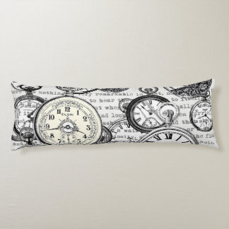 White Rabbit Time Alice in Wonderland Body Pillow
