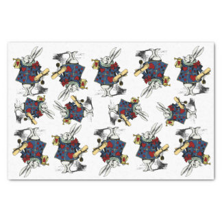 White Rabbit! Vintage classic Alice in Wonderland Tissue Paper