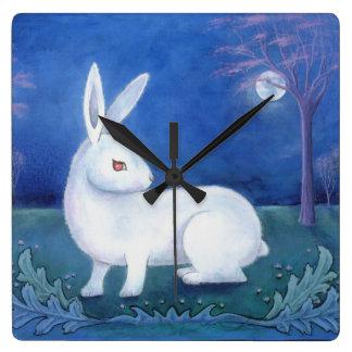 """White Rabbit"" Wall Clock"
