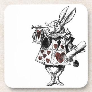 White Rabbits of Hearts - Alice in Wonderland Coaster