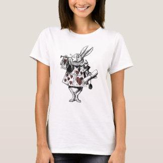 White Rabbits of Hearts - Alice in Wonderland T-Shirt