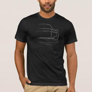 White Raptor American Apparel T-Shirt