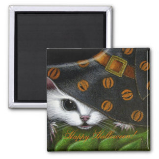 WHITE RAT/MICE MOUSE HALLOWEEN Magnet