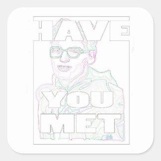 White Rave Travis Sticker