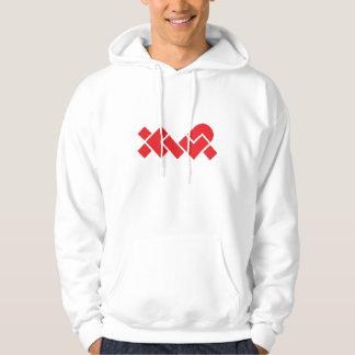White/Red XWP Hoodie