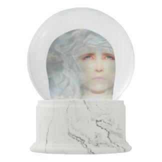White Renaissance Snow Globe