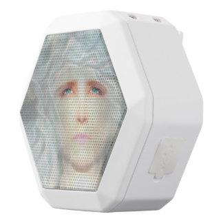 White Renaissance White Bluetooth Speaker