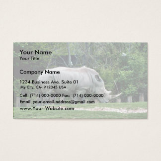 White Rhino Business Card