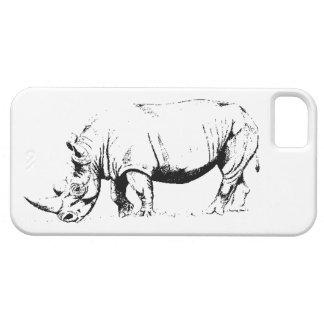 White Rhino I phone case