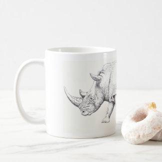 White Rhino Mug