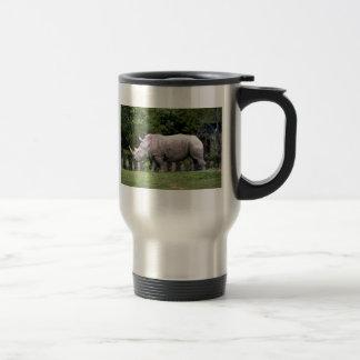 White Rhinos Travel Mug