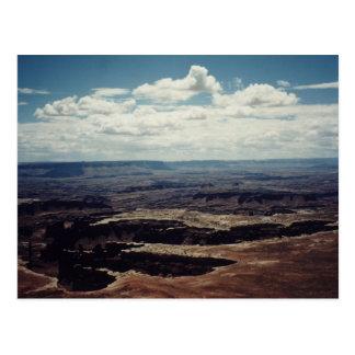 White Rim, Canyonlands, Utah Postcard