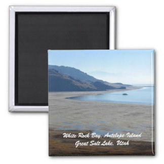 White Rock Bay, Antelope Island Great... Magnet