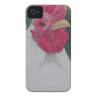 White Rooster Case-Mate iPhone 4 Cases
