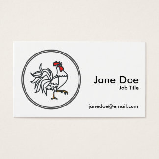 chinese rooster business cards and business card templates zazzle canada. Black Bedroom Furniture Sets. Home Design Ideas