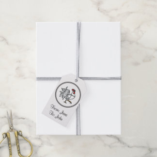 White Rooster - Fish Prawn Crab Collection Pack Of Gift Tags