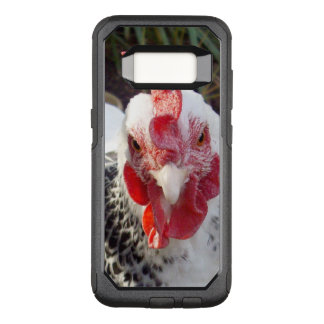 White Rooster With Black Speckles, OtterBox Commuter Samsung Galaxy S8 Case