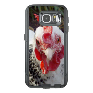 White Rooster With Black Speckles, OtterBox Samsung Galaxy S6 Case