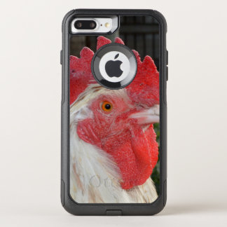 White Rooster With Brown Speckles, OtterBox Commuter iPhone 8 Plus/7 Plus Case