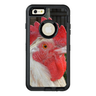 White Rooster With Brown Speckles, OtterBox Defender iPhone Case
