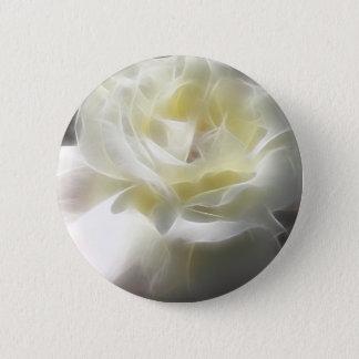 White Rose 2 Macro Angelic 2 Inch Round Button
