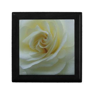 White Rose Center Keepsake Box