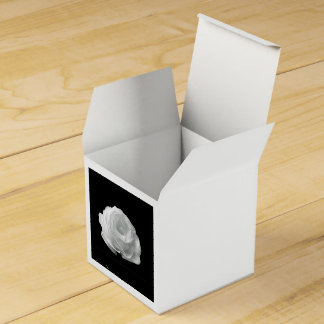 White Rose Favor Box
