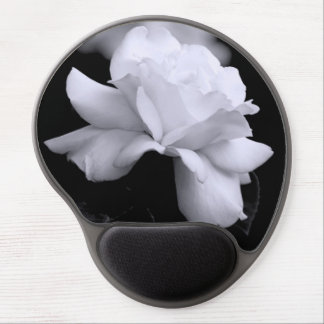 White Rose Gel Mouse Pad
