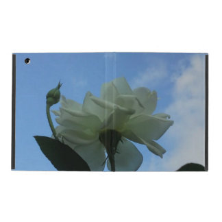 White Rose In The Blue Sky iPad iPad Case