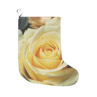 White Rose Large Christmas Stocking
