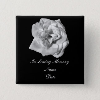 White Rose memory pin