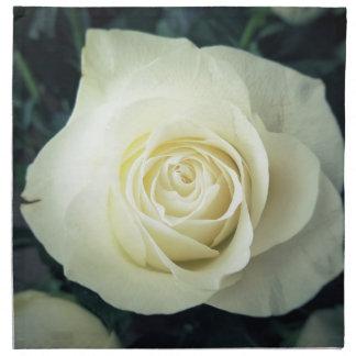 White Rose Mug Napkin