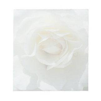White Rose Notepad