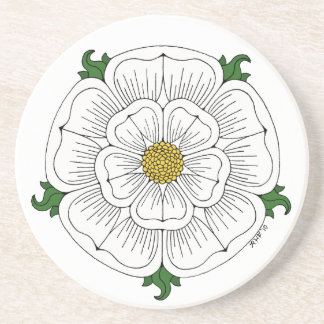 White Rose of York Coaster