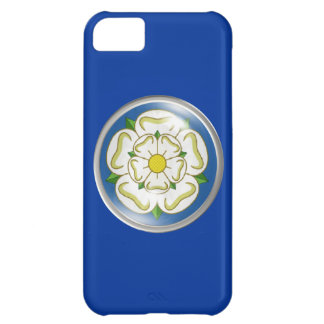White Rose of Yorkshire Flag Case For iPhone 5C