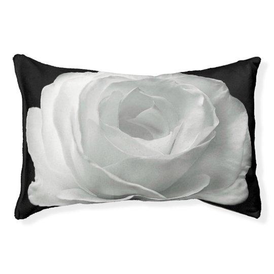 White Rose Pet Bed