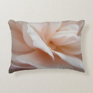 White Rose Petals Pillow