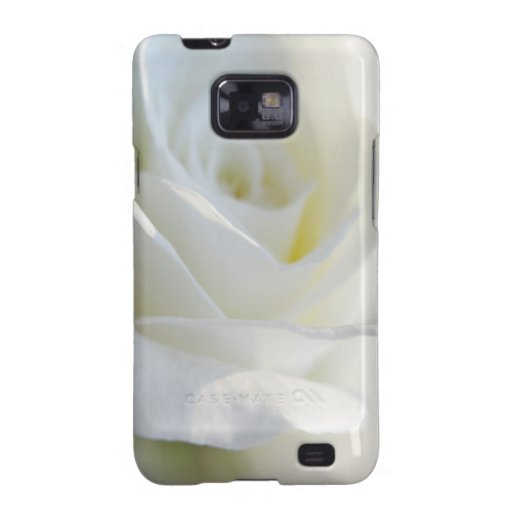 White Rose Samsung Galaxy S2 Case Awesome