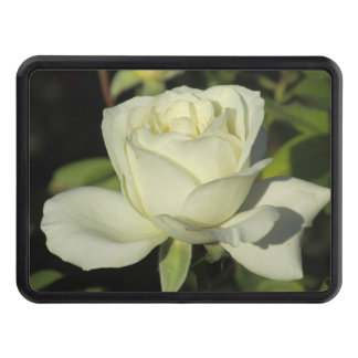White Rose Trailer Hitch Cover