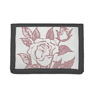 White Rose Wallet