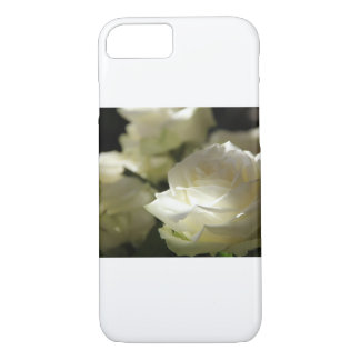 White rose White roses iPhone 8/7 Case