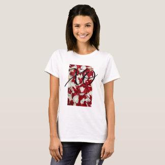 White Rose XO T-Shirt
