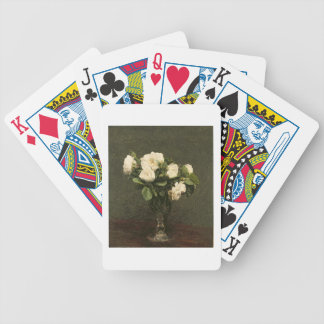 White Roses, 1875 (oil on canvas) Bicycle Playing Cards