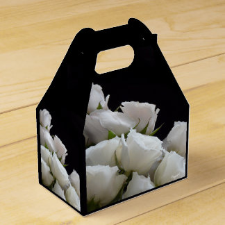 White Roses Bouquet g.f. box © Angel Honey, 2009 Party Favor Boxes