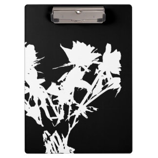 White Roses Clipboard