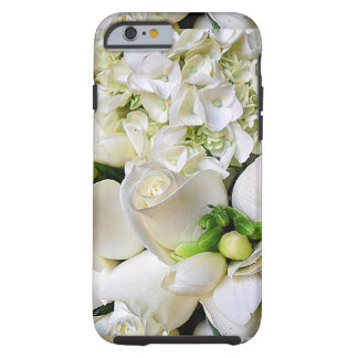 White Roses,Happy_ Tough iPhone 6 Case