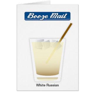 White Russian Card