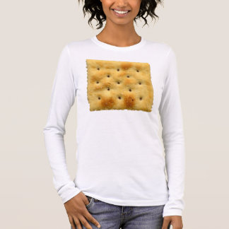 White Saltine Soda Crackers Long Sleeve T-Shirt